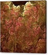 Hydrangea Fractal Blossoms Canvas Print