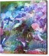 Hydrangea Photoart II Canvas Print