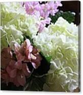 Hydrangeas Bouquet Canvas Print