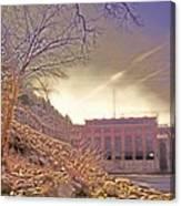 Hydro Electric Dam  N Canvas Print