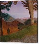 I 64 Overlook In Virginia Canvas Print