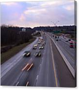 I-75 Knoxville At Dusk Canvas Print