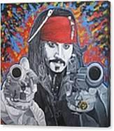 I Am Captain Jack Sparrow Canvas Print