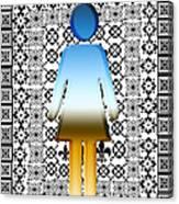I Am Woman Canvas Print