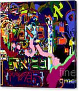 I Believe With Complete Faith In The Coming Of Mashiach 4 Canvas Print