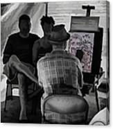 I Draw You Caricatures In Asheville Canvas Print