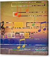 I Have Music In My Heart Canvas Print