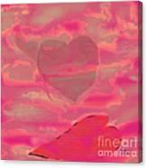 I Lay Down My Heart Canvas Print