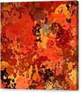 I Love Autumn Canvas Print