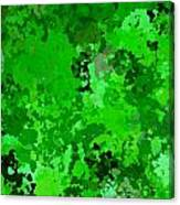 I Love Green Canvas Print