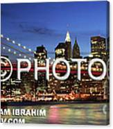 I Love New York -  Limited Edition Canvas Print