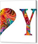 I Love You 17 - Heart Hearts Romantic Art Canvas Print