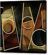 I Love You - Abstract  Canvas Print