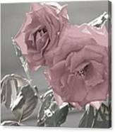 I Love You Rose Canvas Print