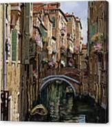 I Ponti A Venezia Canvas Print