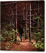 I Walk Alone Canvas Print