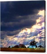 I Will Praise You Through This Storm Canvas Print