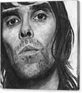 Ian Brown Pencil Drawing Canvas Print