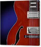 Ibanez Af75 Hollowbody Electric Guitar Front View Canvas Print