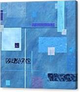 iBlue Canvas Print