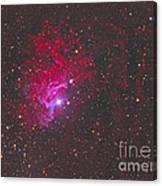 Ic 405, The Flaming Star Nebula Canvas Print