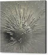 Ice Abstract II Canvas Print