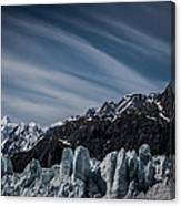 Ice And Sky With My Little Eye Canvas Print