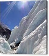 Ice And Sun Canvas Print