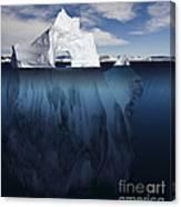 Ice Arch Iceberg Canvas Print