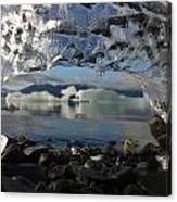 Ice Arch Canvas Print