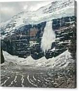 1m3545-01-ice Avalanche On Mt. Victoria Canvas Print