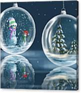 Ice Balls Canvas Print