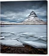 Ice-berg Canvas Print