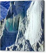 Ice Berg Up Close And Personal Canvas Print