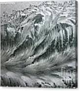 Ice Breaker Waves Canvas Print