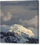 Ice-capped Mountains Anvers Island Canvas Print