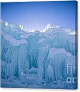Ice Castle Canvas Print