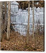 Ice Falls Canvas Print