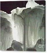 Ice Flow 10 Canvas Print