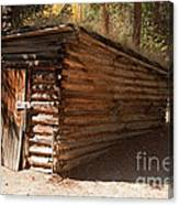 Ice House At The Holzwarth Historic Site Canvas Print