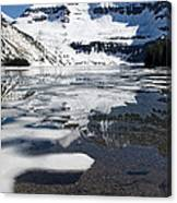 Ice In The Water Canvas Print
