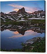 Ice Lakes Basin Sunrise Canvas Print