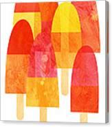 Ice Lollies Canvas Print