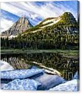 Ice Pool Canvas Print