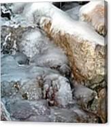 Ice Rock Canvas Print