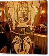 Ice Sculpture At Ellyngtons Sunday Brunch  Canvas Print