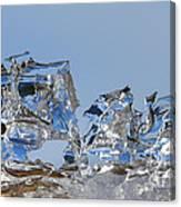 Ice Ships Canvas Print