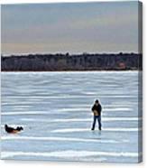 Ice Skipper Canvas Print