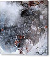 Ice Transformation Vii Canvas Print