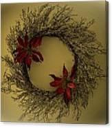 Ice Wreath Canvas Print